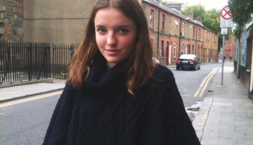 Juliette, au lycée Edgar-Poe à Paris, apprécie les nouvelles mesures de sécurité dans son lycée. //©Photo fournie par le témoin