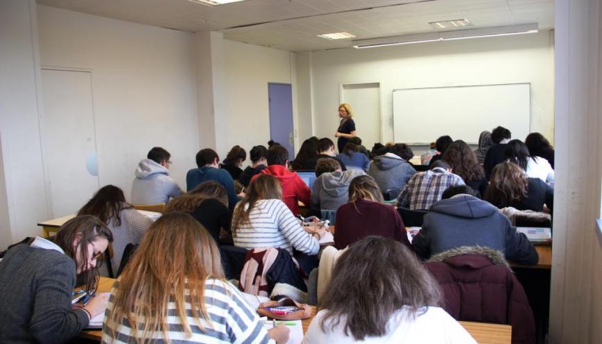 La plupart des cours est donnée sour forme de TD, avec 30 élèves au maximum. //©Marie-Anne Nourry