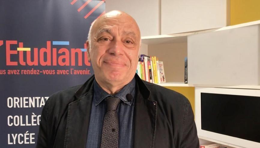 Georges Haddad, président de l'université Paris 1 Panthéon-Sorbonne, est l'invité de la rédac. //©l'Etudiant