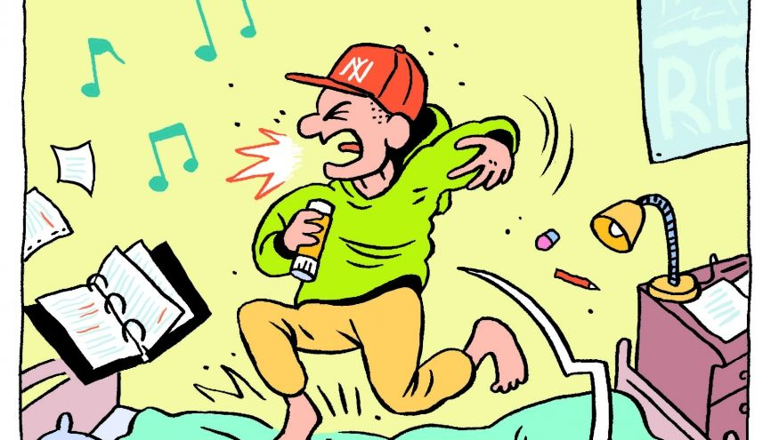 Selon une étude britannique, la musique aiderait à la concentration et à la mémorisation des cours. //©Julien Revenu