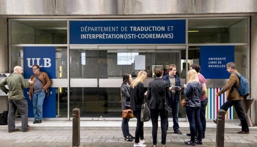 À l'université libre de Bruxelles, les droits d'inscription coûtent 835 €. //©Danny GYS/REPORTERS-REA