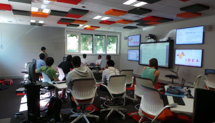 Learning Lab de l'EM et Centrale Lyon - salle de codesign //©ECL