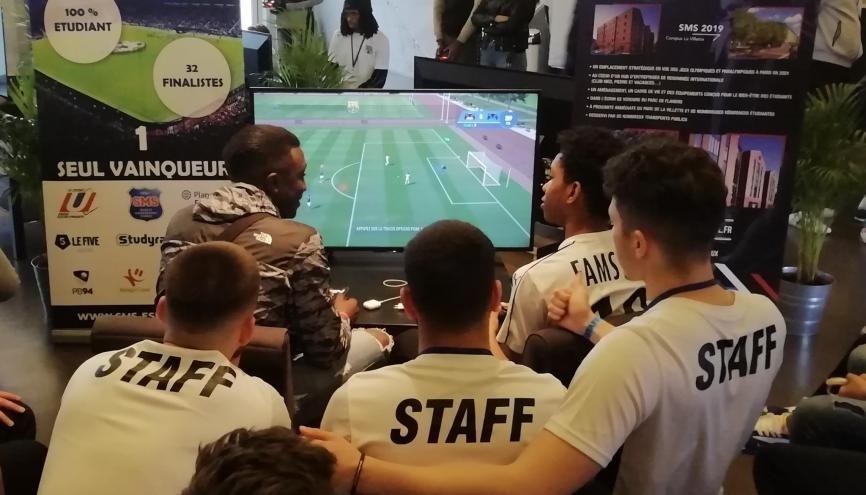 La SMS E-Sport Cup s'incrit dans le cadre d'une formation à la Sports Management School. //©Clément Rocher