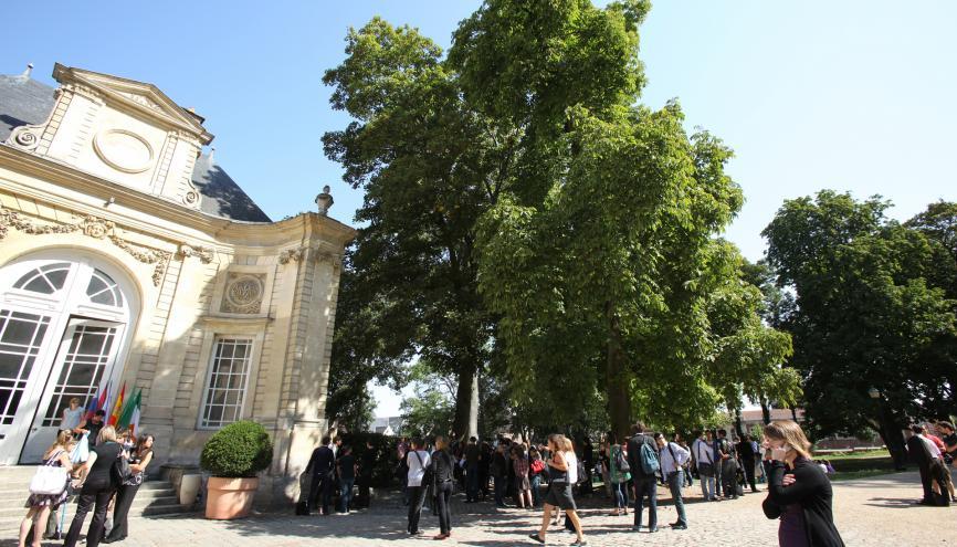 Sur le campus de l'ESC Amiens. //©ESC Amiens