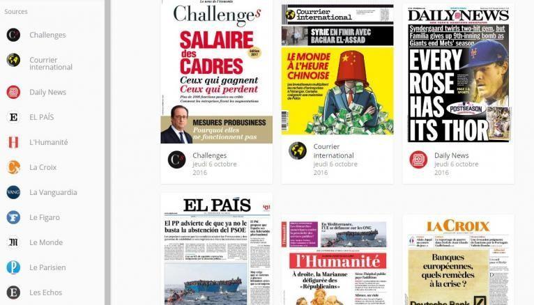 Page d'accueil du site lirelactu.fr (capture d'écran)