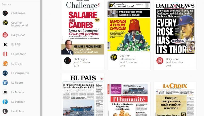 Page d'accueil du site lirelactu.fr (capture d'écran) //©lirelactu.fr