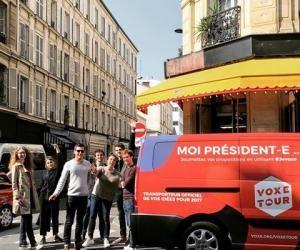 #VoxeTour c'est 33 étapes dans les métropoles, les villes de tailles moyennes et les petites communes