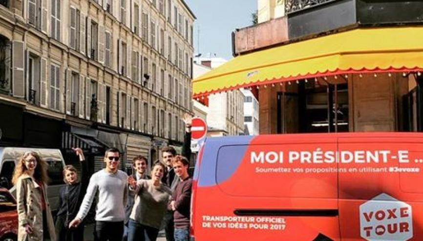 #VoxeTour c'est 33 étapes dans les métropoles, les villes de tailles moyennes et les petites communes //©VoxeTour