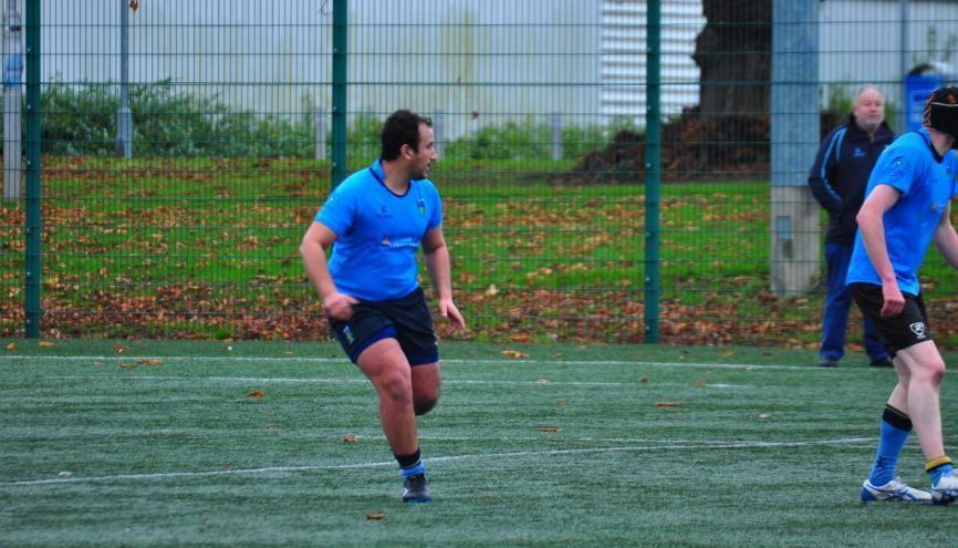 En véritable amateur de rugby, Eddy rêvait depuis longtemps de découvrir l'Irlande. //©Fournie par le témoin