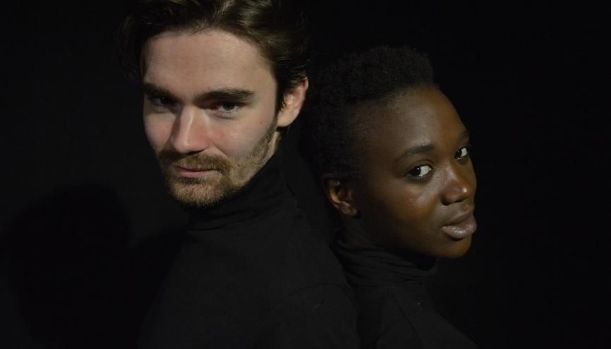 Maxime Couette et Zem-Zem Bizot ont suivi une formation théâtrale au prestigieux Cours Florent. //©Florian Dacheux