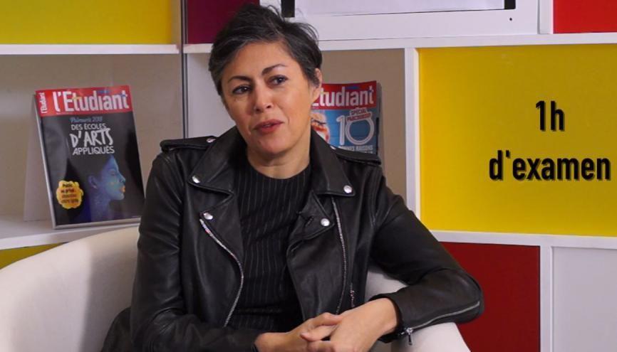 Sonia Arbaretaz, enseignante de français, vous donne toutes les clés pour réussir l'épreuve écrite du bac. //©letudiant.fr