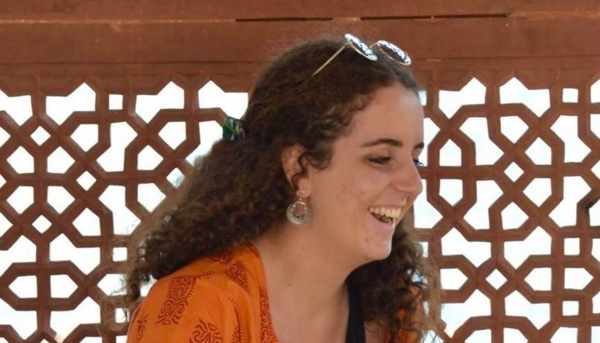 Emma, étudiante de 22 ans, s'épanouit en Inde. //©Photo fournie par l'auteur