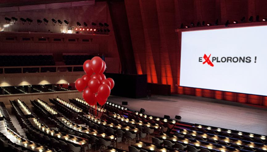 À Paris, cet amphithéatre de l'Unesco accueillera la première TEDxChampsÉlyséesED sur l'éducation le 5 octobre prochain. 1.300 participants sont attendus. //©TEDxChampsÉlyséesED