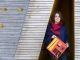 Sarah, 26 ans, a créé Constant & Zoé, une ligne de vêtements pour personnes handicapées. //©Olivier GUERRIN pour L'Étudiant