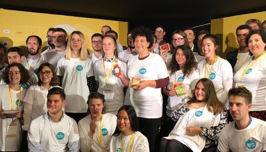 Les 29 lauréats nationaux des prix Pépite récompensant l'entrepreneuriat étudiant touchent 10.000 € pour développer leur entreprise. //©Etienne Gless