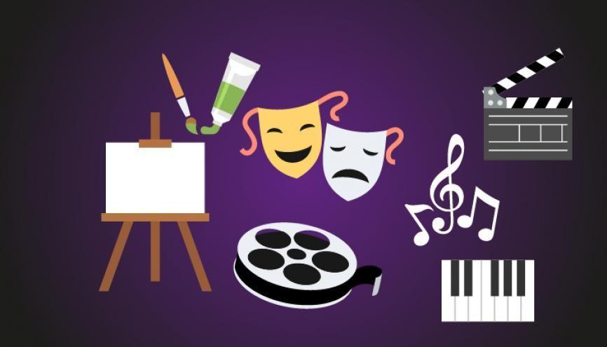 Voici le programme de la spécialité art en première. //©Shutterstock