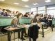 """Reportage """"ma vie en internat"""" : salle de cours du lycée Saint-Joseph de Reims //©William Beaucardet pour l'Étudiant"""