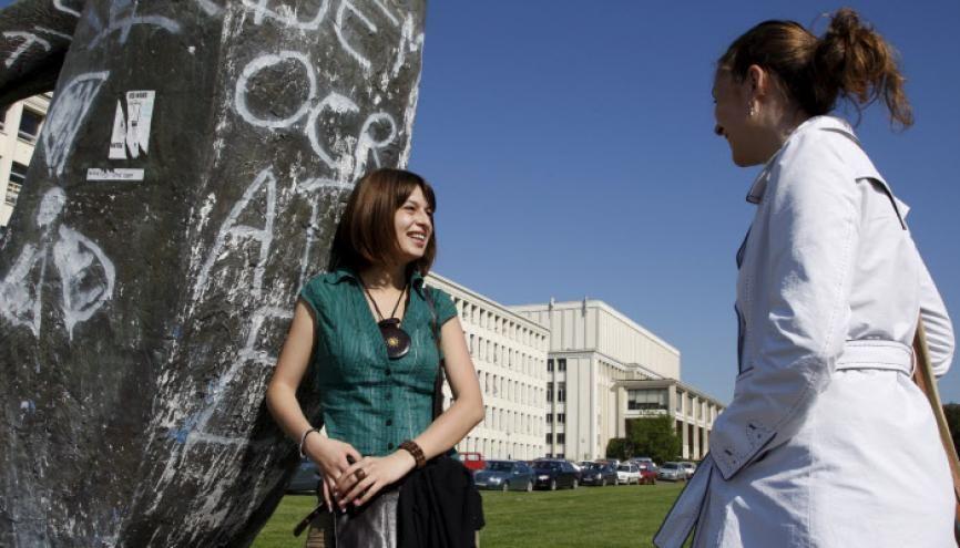 L'université de Caen est l'une de celles qui affichent le meilleur taux de réussite au concours de médecine. //©Benoît Decout / R.E.A