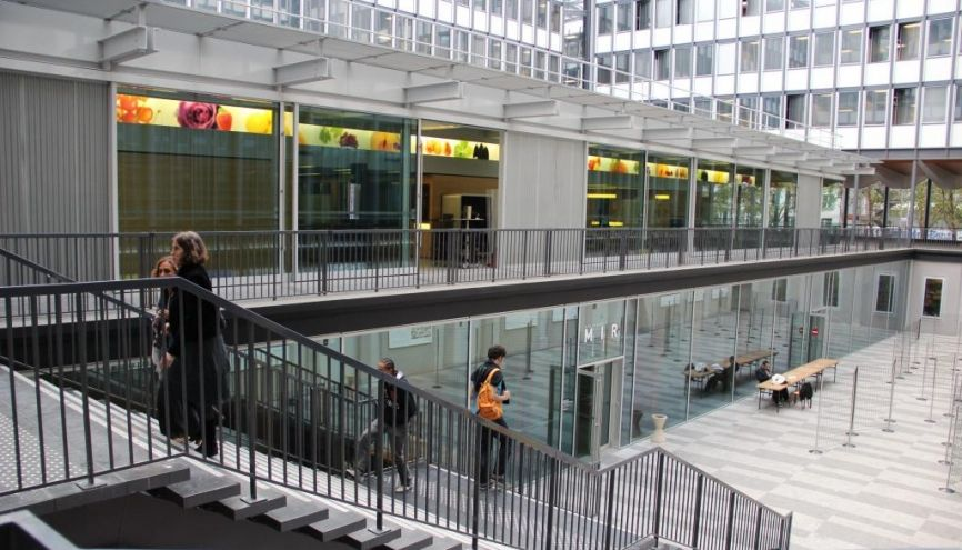 Première université française du classement de Shanghai, Sorbonne Université se place à la 36e position mondiale. //©Camille Stromboni