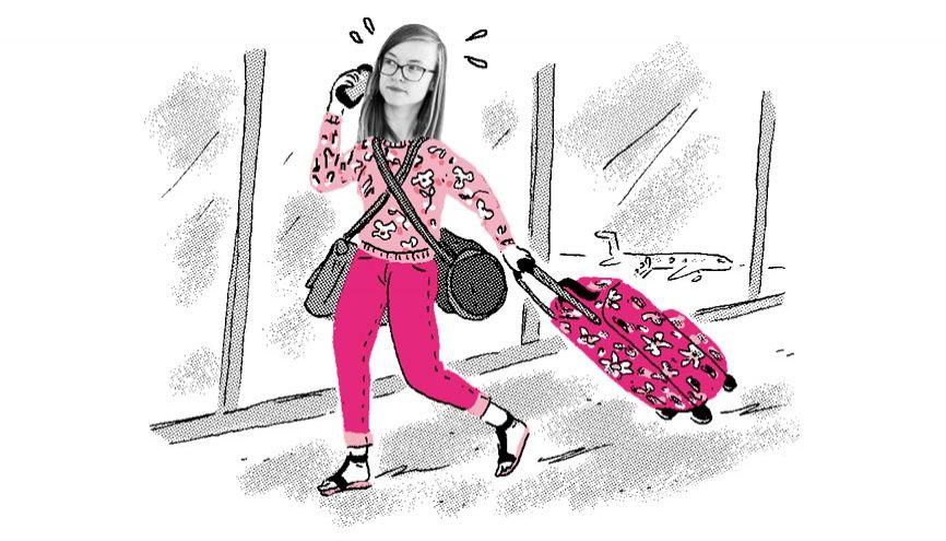 Tara se voyait dans les pays scandinaves et s'est retrouvée en Croatie. //©Ariane Pinel pour l'Etudiant