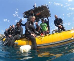 Le master sciences de la mer à l'université de Perpignan permet de nombreuses sorties : embarcations sur des navires océanographiques, plongées sous-marines.