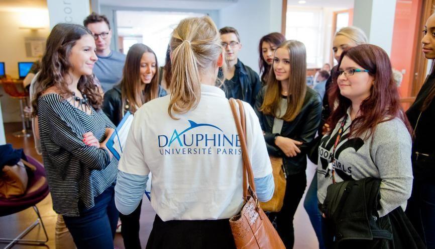 """L'université Paris-Dauphine a monté un programme """"égalité des chances"""" avec 38 lycées de toute la France. //©Paris Dauphine"""