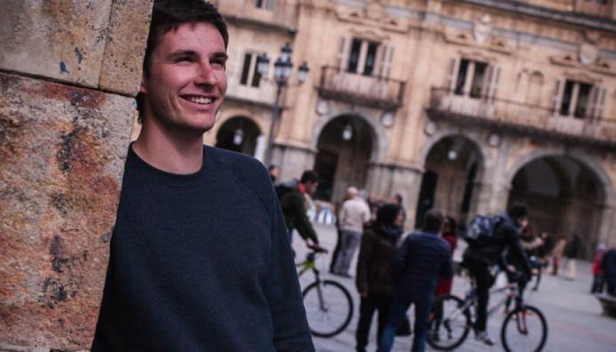 Antoine fait partie des rares étudiants en médecine qui partent étudier à l'étranger pendant leur cursus. //©Philippe Dollo pour l'Etudiant