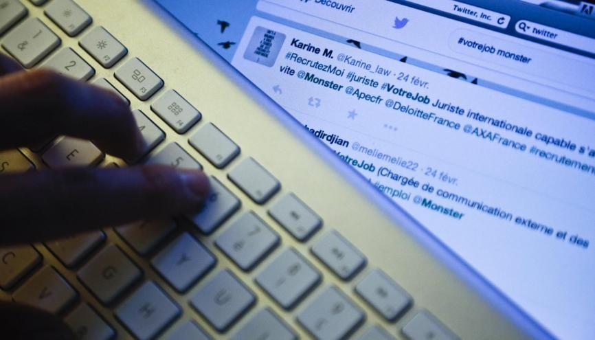 Et si un hashtag vous permettait de trouver du travail ? //©Denis Allard/REA