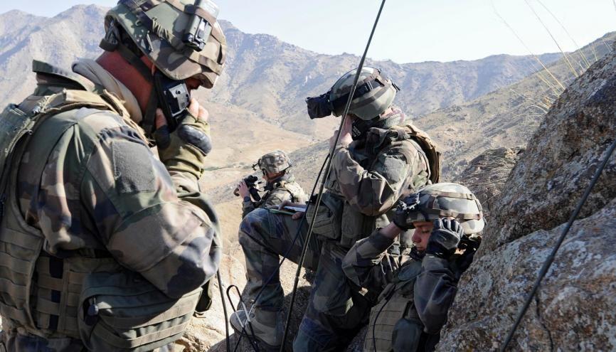Offre d'emploi : engagez-vous dans armée de terre pour des métiers d'avenir //©Sebastien DUPONT / ECPAD / Défense