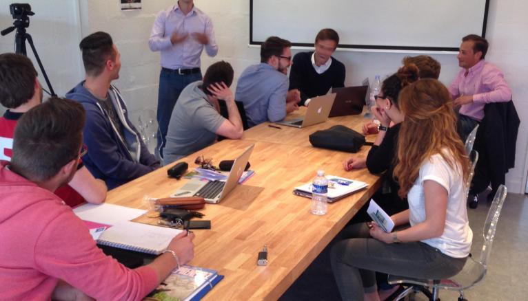 Le YEC (Young creative center) de l'ESC Troyes ne sélectionne que 30 % des dossiers qu'il reçoit.