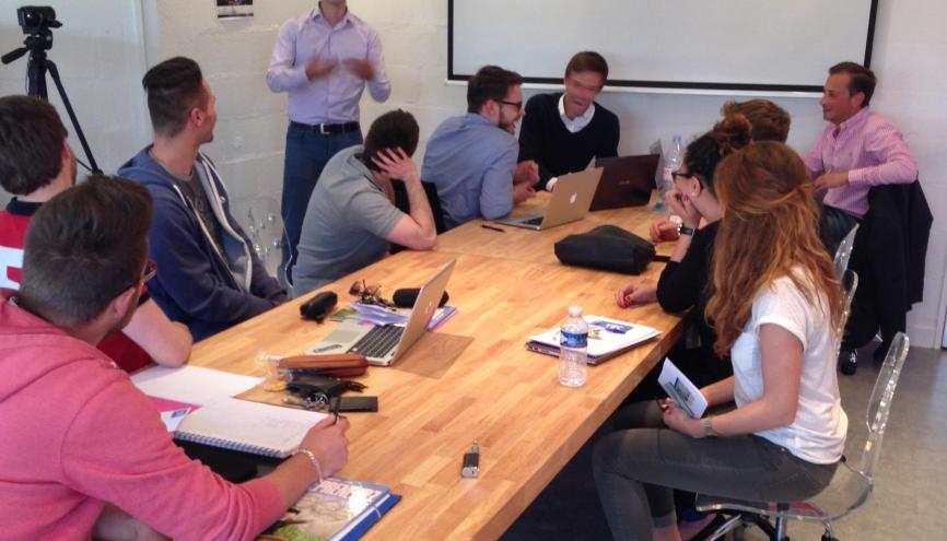 Le YEC (Young creative center) de l'ESC Troyes ne sélectionne que 30 % des dossiers qu'il reçoit. //©Olivier Frajman