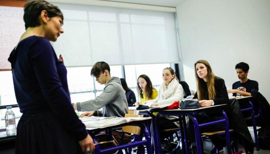 """La première, """"une année où l'on est déjà tourné vers l'examen final"""". //©Laurent Hazgui pour l'Etudiant"""