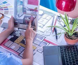 L'architecte d'intérieur doit disposer de compétences artistiques mais aussi de la maîtrise des contraintes techniques.