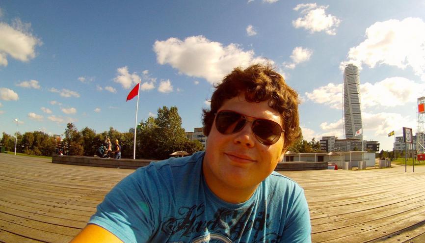 Séverin, 20 ans, en 3e année de l'IEP Strasbourg. //©SS