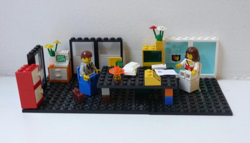 Avec une bonne préparation en amont, l'entretien d'embauche vous paraîtra nettement moins effrayant. //©Gertrude O'Byrne