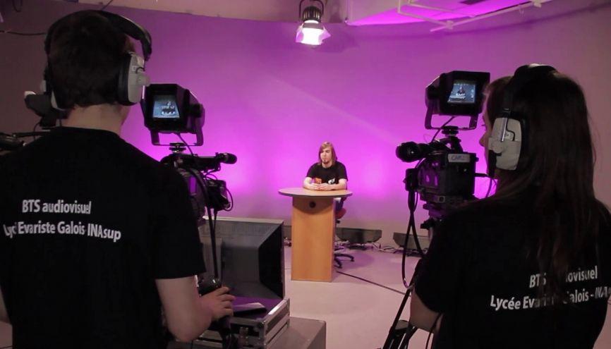 L'INA Sup est reconnu pour la qualité de sa préparation au BTS métiers de l'audiovisuel. //©INA Sup