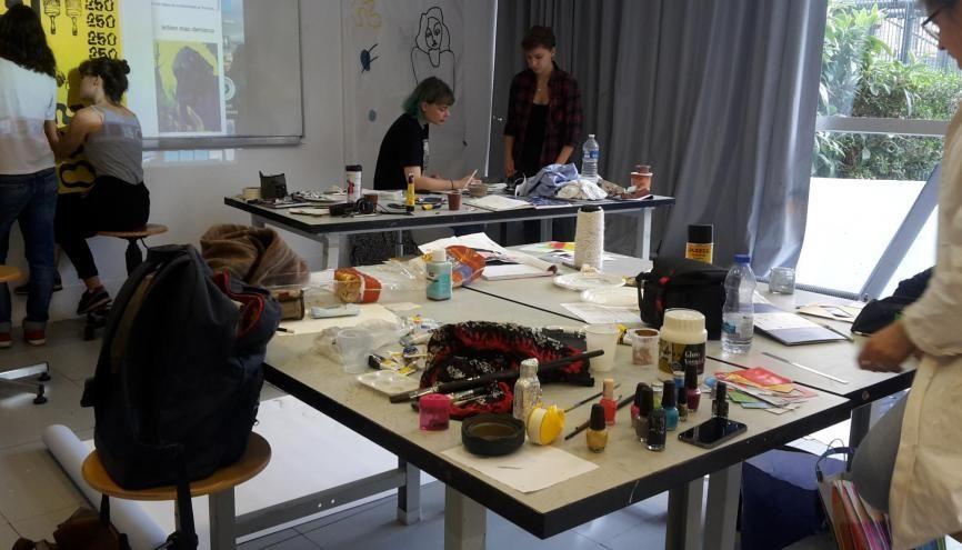 Les étudiants de l'Ensad ont une semaine pour réussir leur premier workshop de l'année. //©Laura Taillandier