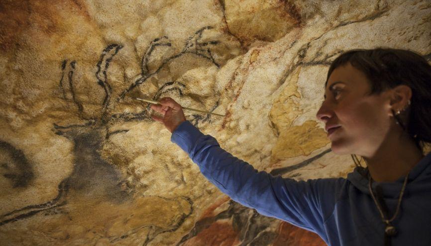 De formations en expériences, Margherita est arrivée d'Italie à Lascaux, en Dordogne. //©Sabine Delcour pour l'Étudiant