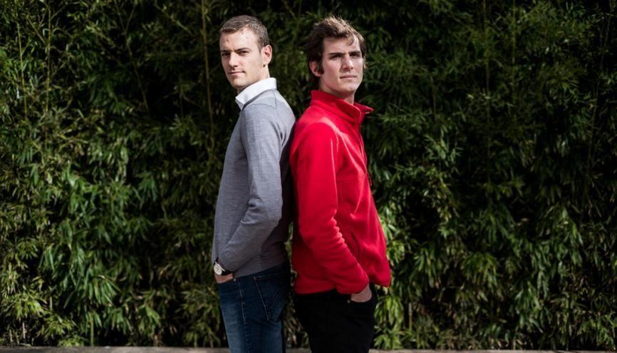 Julien Salinas, 30 ans, et Jérémy Ruet, 32 ans. //©Pablo Chignard/Hans-Lucas pour l'Etudiant