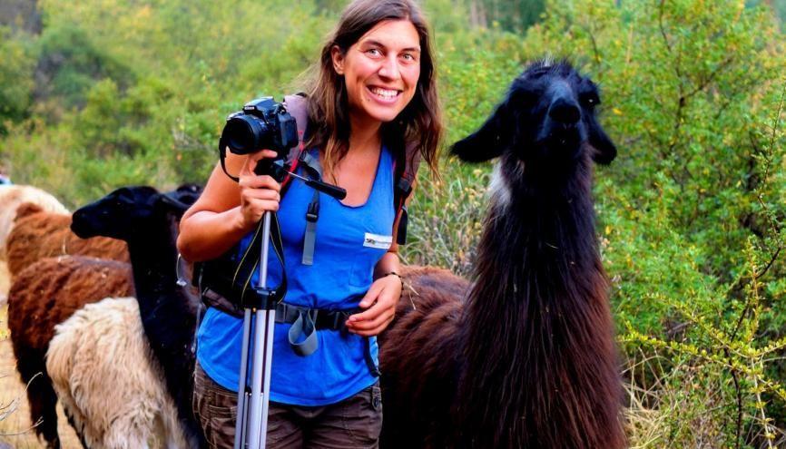 Florie, 29 ans, est journaliste pour Voyageons autrement et consultante en communication digitale pour des entrepreneurs du tourisme responsable. //©Photo fournie par le témoin