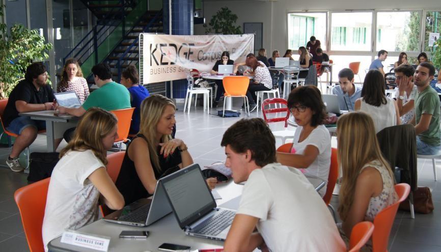 L'EBP International de Kedge Business School rejoint cette année les 13formations postbac autorisées à délivrer un grade de master. //©Kedge Business School