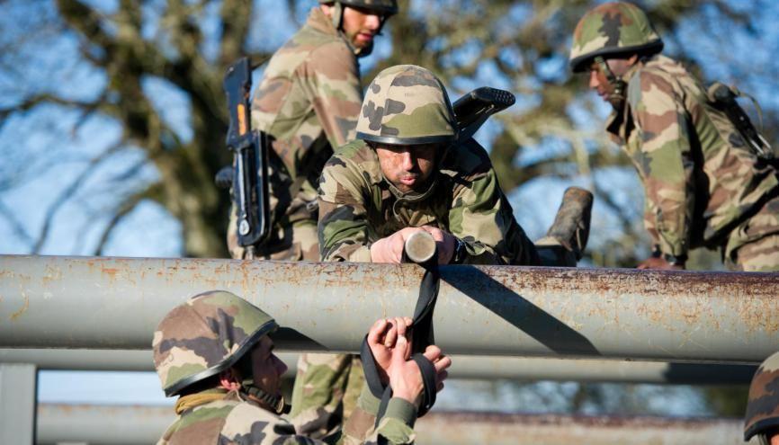 Recrutement : comment devenir sous officier dans armée de terre //©J.Bardenet/amrée de Terre /Défense