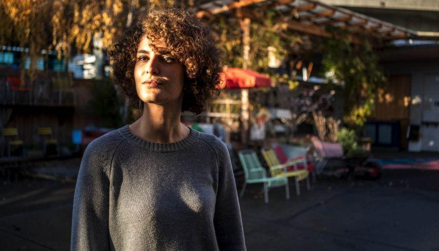Anaïs aime se balader dans le quartier de Hardbrucke, à Zurich, où se situe son école d'art. //©Jean Revillard/Rezo pour l'Etudiant