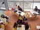 Des étudiants de l'Esdes, à Lyon, une école de commerce postbac en cinq ans. //©Bruno Amsellem/ESDES