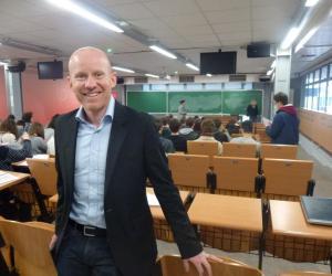 Alexandre Recchia, délégué général du concours Avenir, est en charge de l'organisation de la journée.