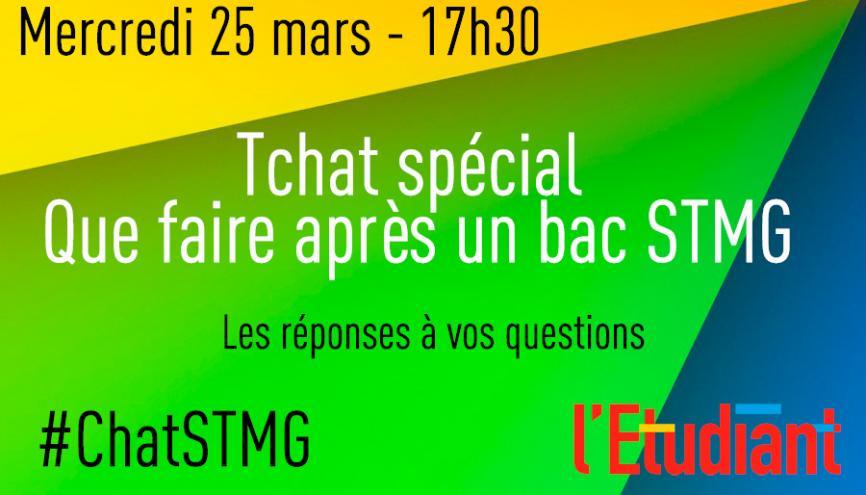 Posez vos questions sur les poursuites d'études après le bac STMG //©Stéphane Moret