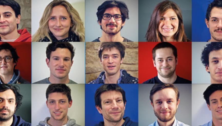 Quelques-uns des start-upers que StartupBegins a suivis alors qu'ils mettaient en place leurs structures. //©StartupBegins
