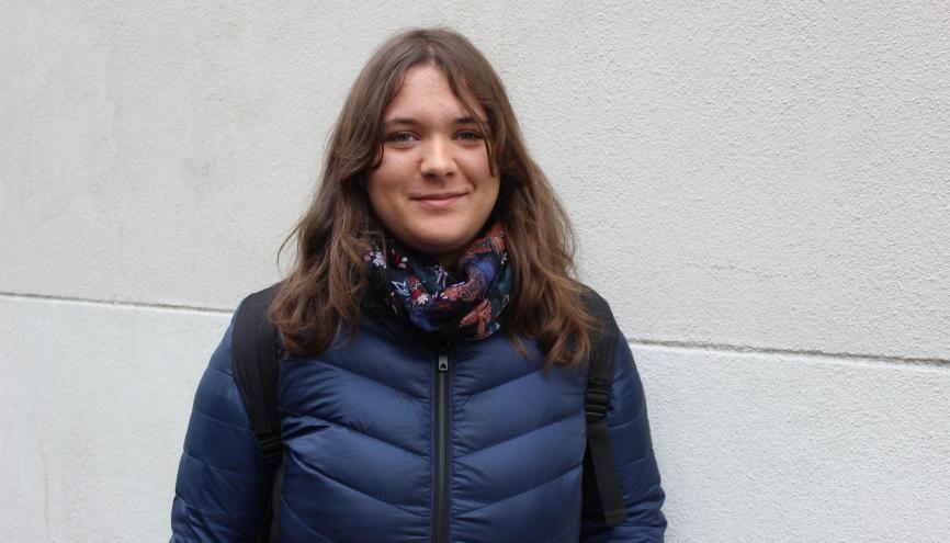 Marthe s'est engagée dès 16 ans dans le monde associatif. //©Delphine Dauvergne