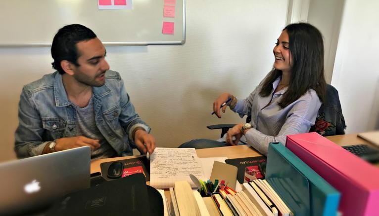 Lauren et Alexandre, son associé, visent un développement à l'international.
