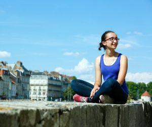 Maurine, 23 ans, en M1 aide à la décision en aménagement urbain et régional, à l'université de Besançon.